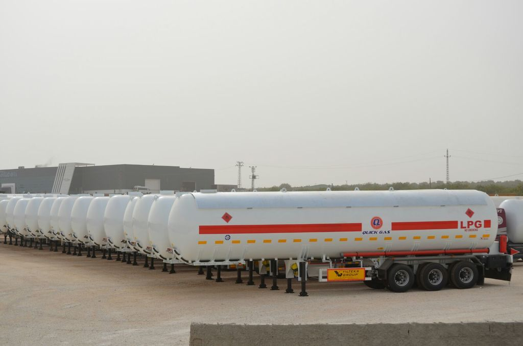 new YILTEKS LPG TANKS gas tank trailer