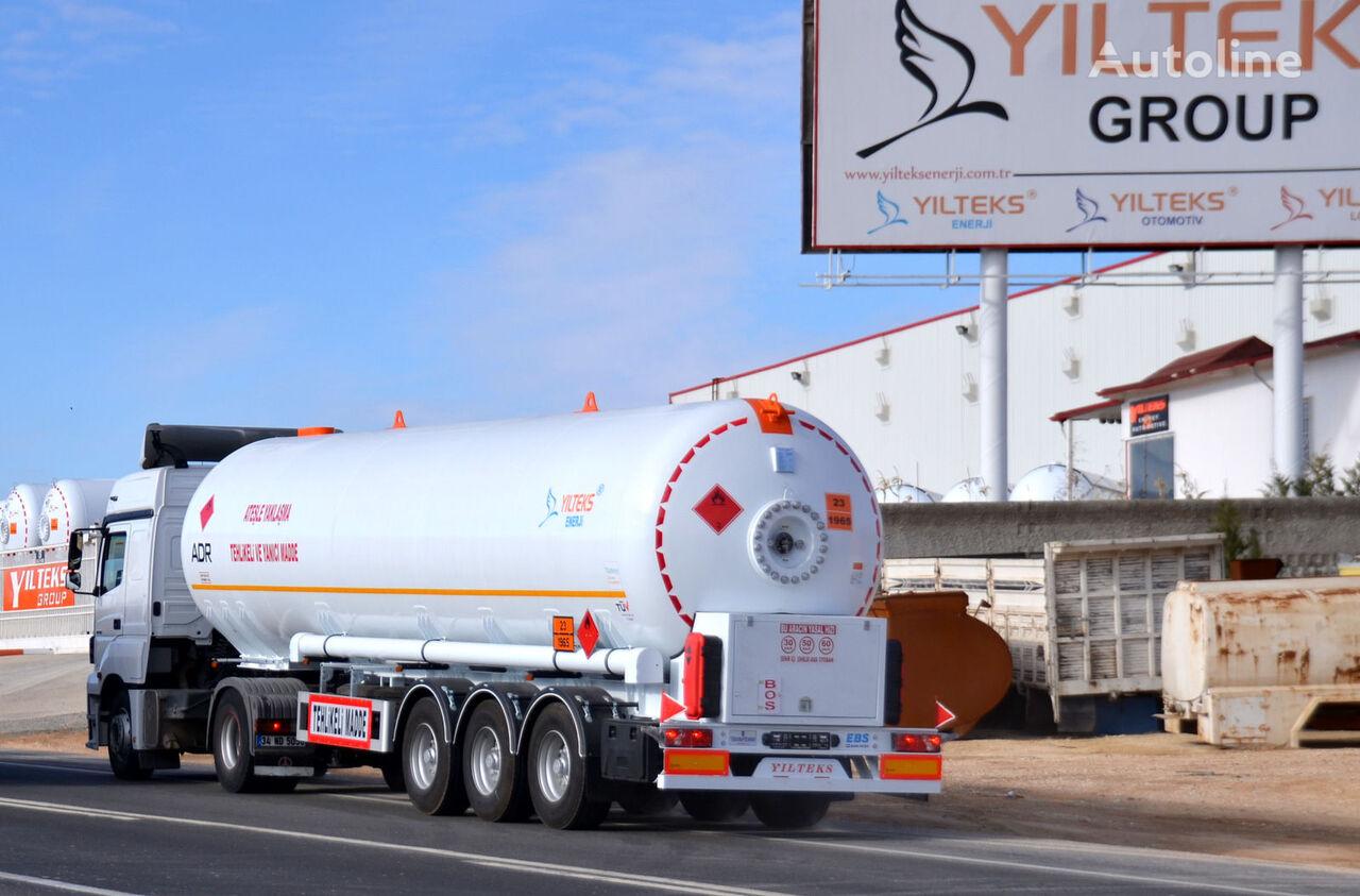new YILTEKS LPG TRAİLER - ADR gas tank trailer