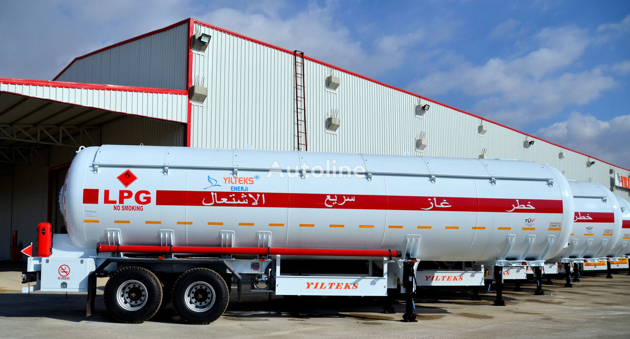 new YILTEKS LPG Tank gas tank trailer