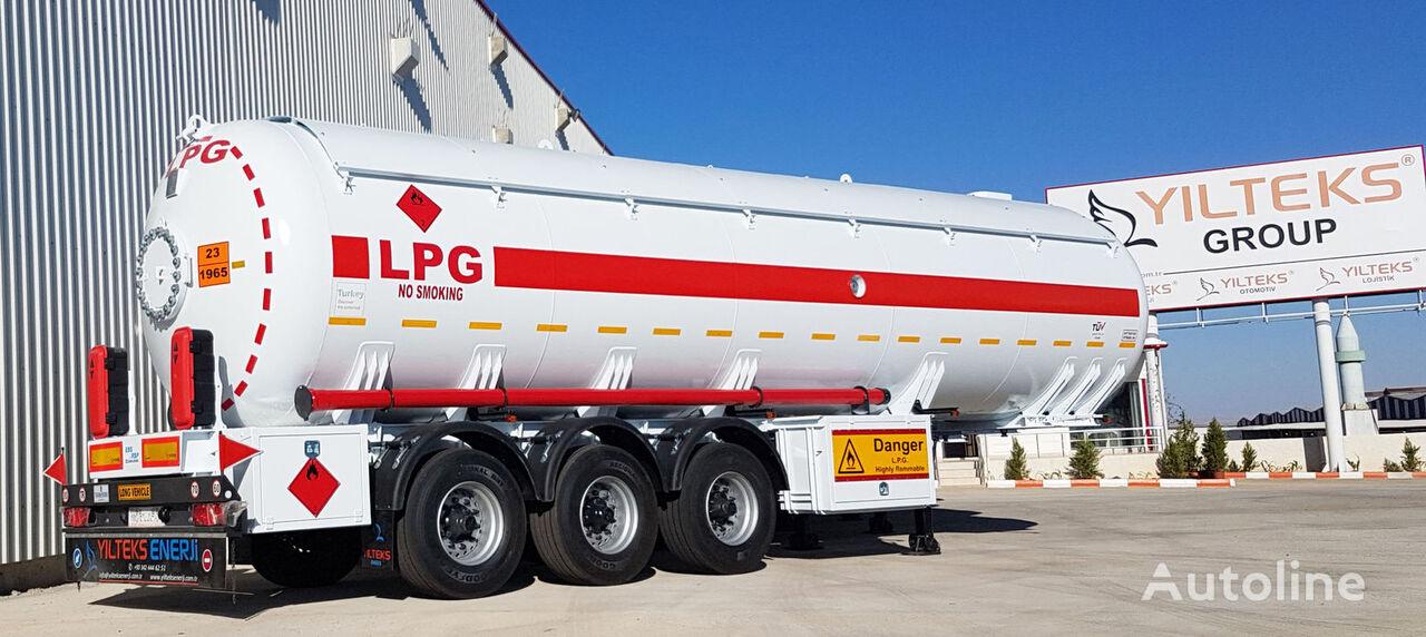 new YILTEKS LPG Trailer 46m3 ASME  gas tank trailer