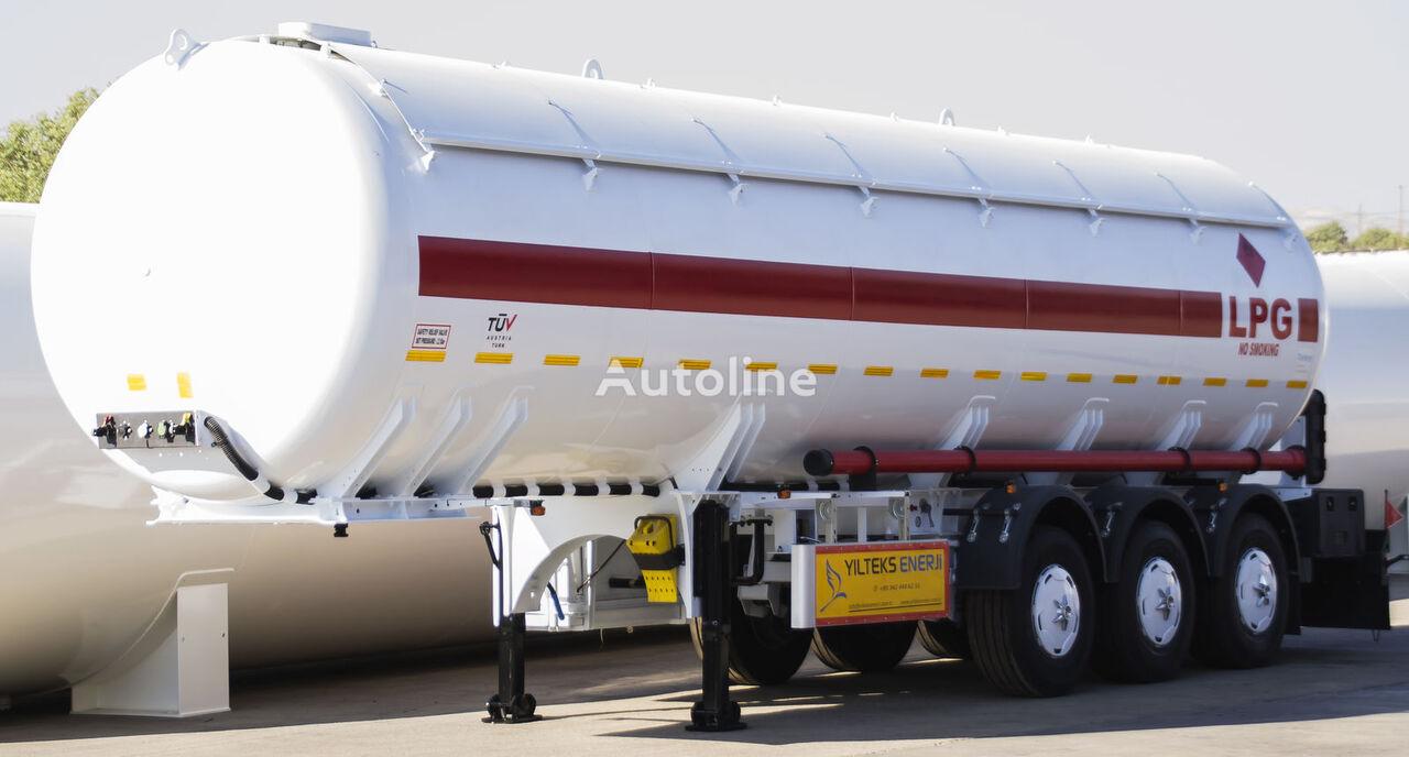 new YILTEKS Semi - Trailer LPG  gas tank trailer