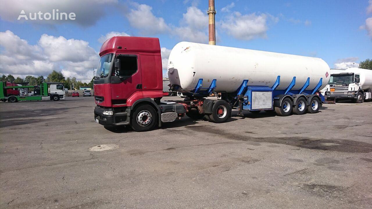 ZASTA gas tank trailer