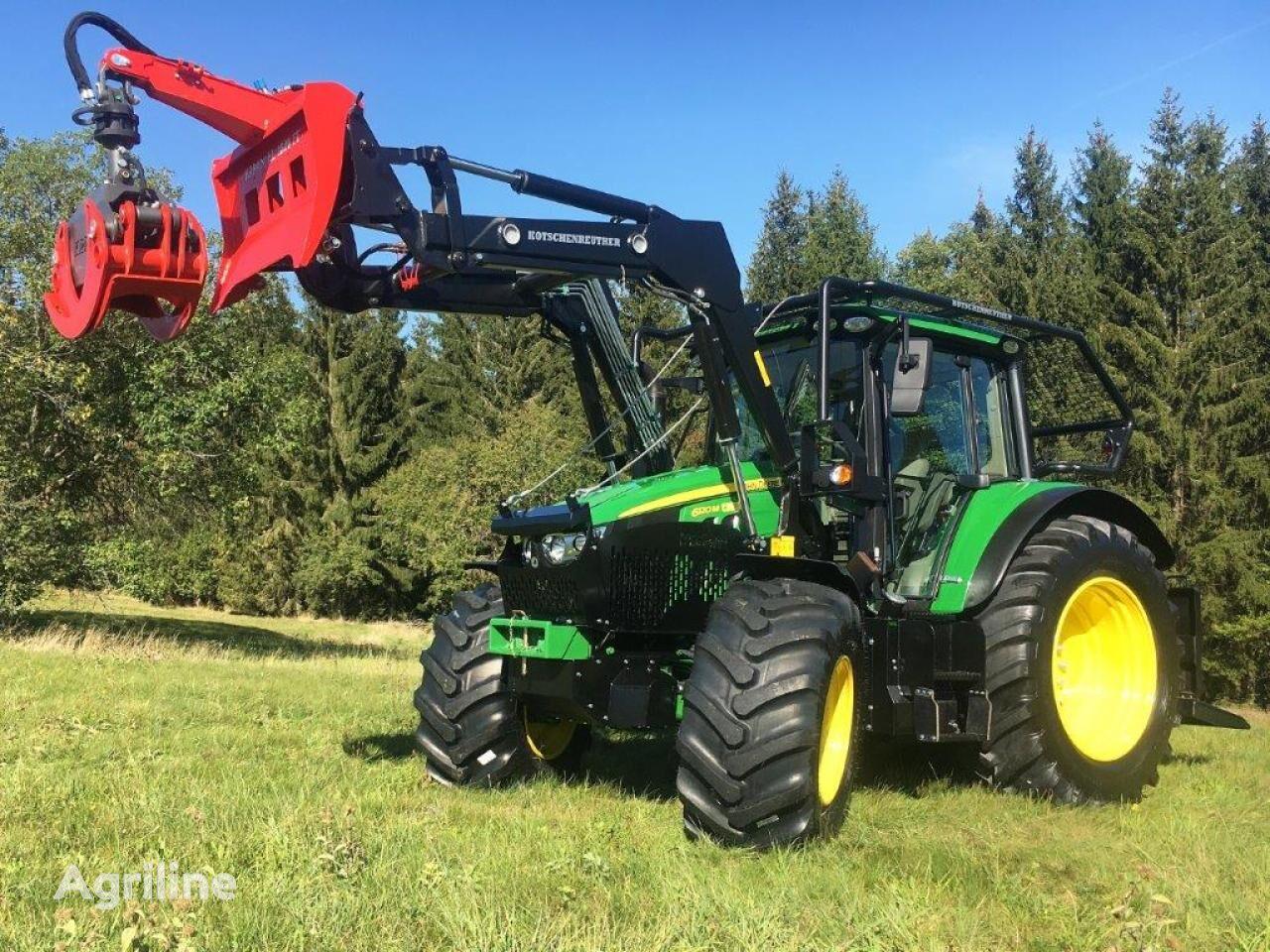 new JOHN DEERE 6120M UVV Schlepper harvester