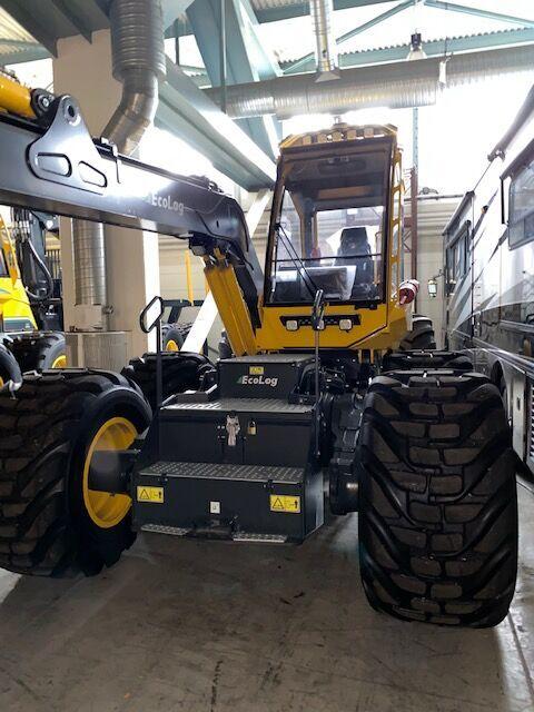 new Eco Log 580E harvester