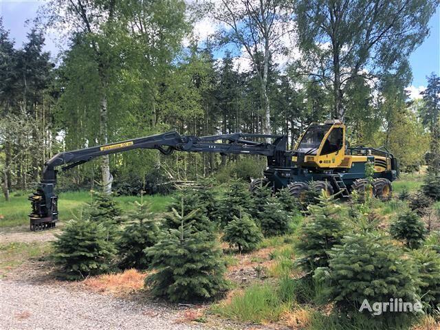 HSM 405 8W fælde-bunkelægger harvester