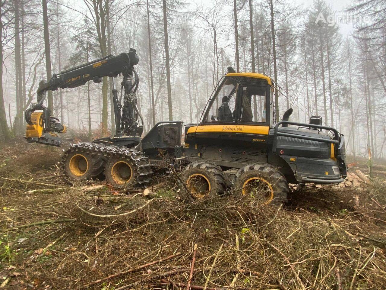 PONSSE Ergo 8WD harvester