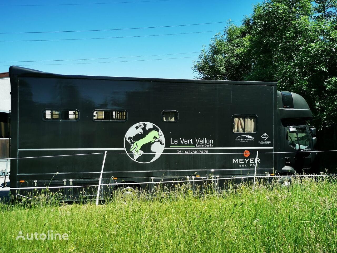 RENAULT Midlum horse transporter