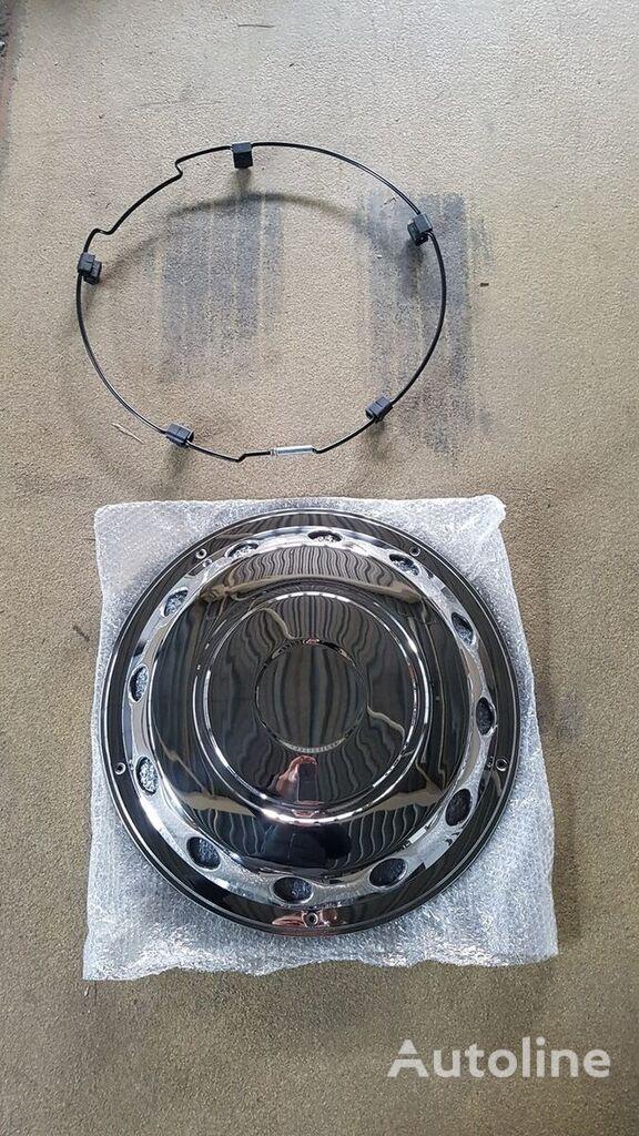 new Wiel Doppen 22.5 INCH RVS Vooras 10 Gats hubcap