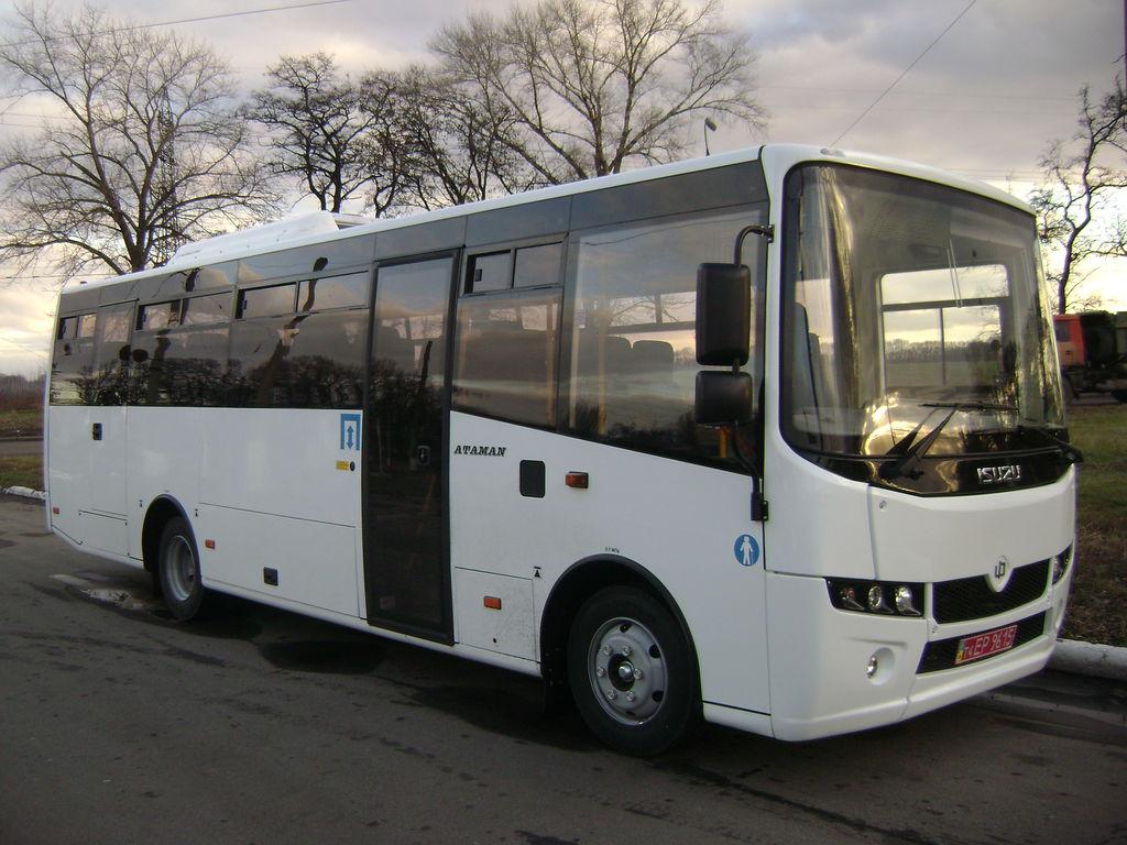 new ATAMAN A-09216 interurban bus