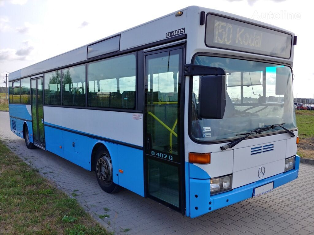 MERCEDES-BENZ O 405 NUE interurban bus