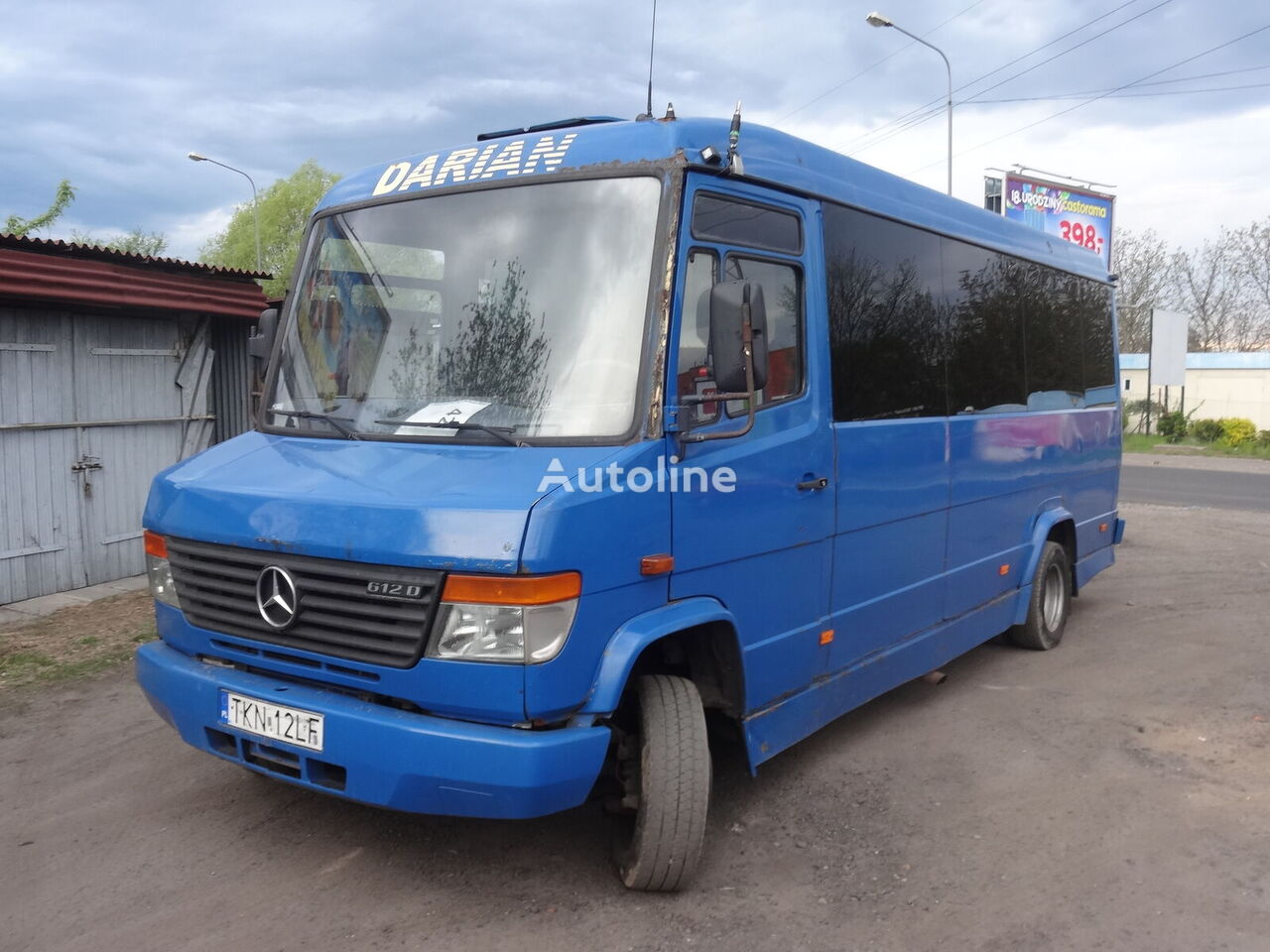 MERCEDES-BENZ Vario 612 interurban bus