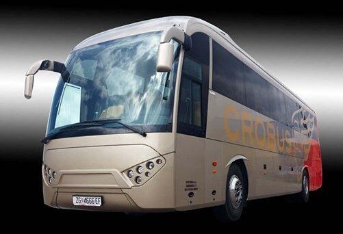 SCANIA CROBUS ZORA C120 interurban bus