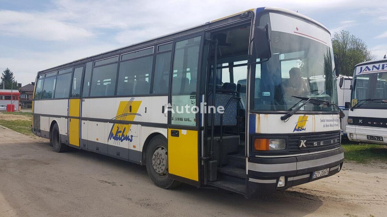 SETRA 215 UL/ CAŁA/NA CZĘŚCI/ SILNIK Z TURBO interurban bus