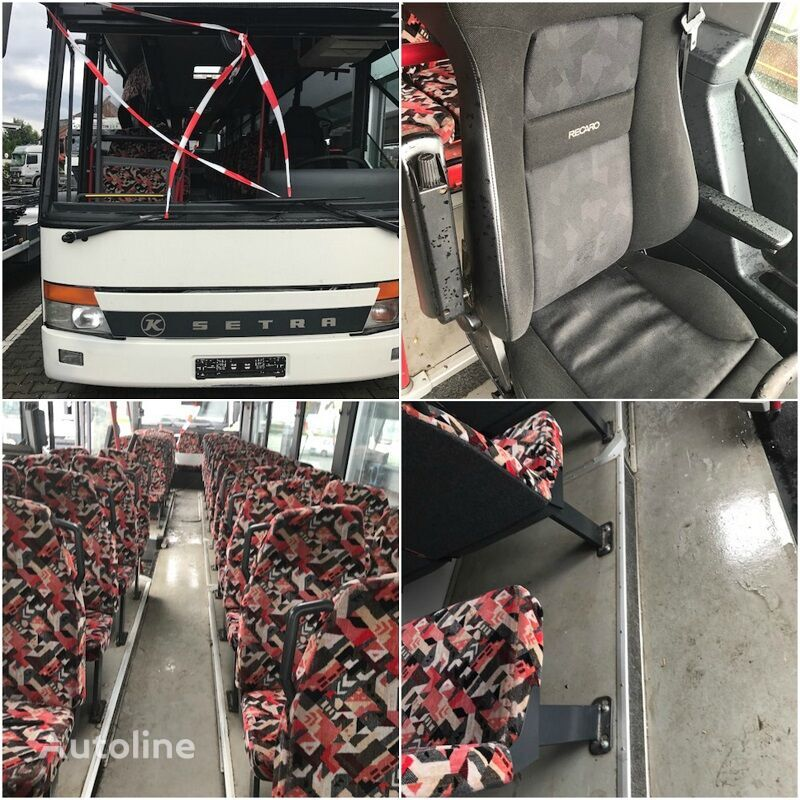 SETRA 315 ALLE TEILE  interurban bus for parts