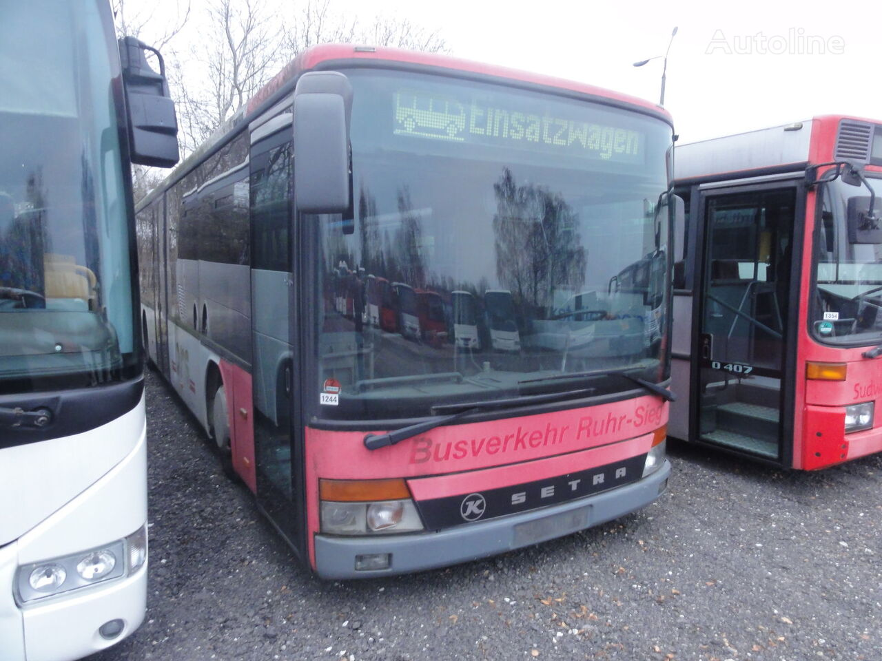 SETRA 315 NF interurban bus