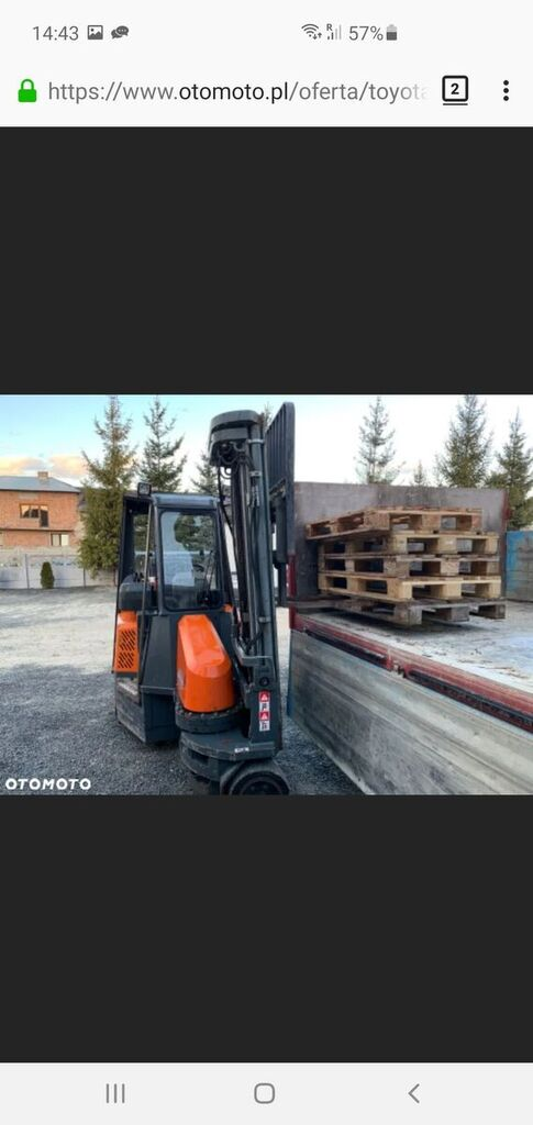 AISLE-MASTER 20S  articulated forklift