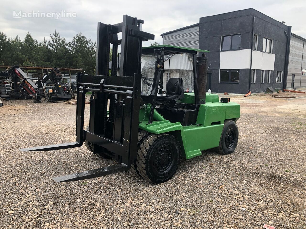 CLARK C500 Y155D ze Szwajcarii forklift