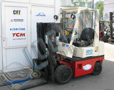 NISSAN KCPH02A25PV forklift