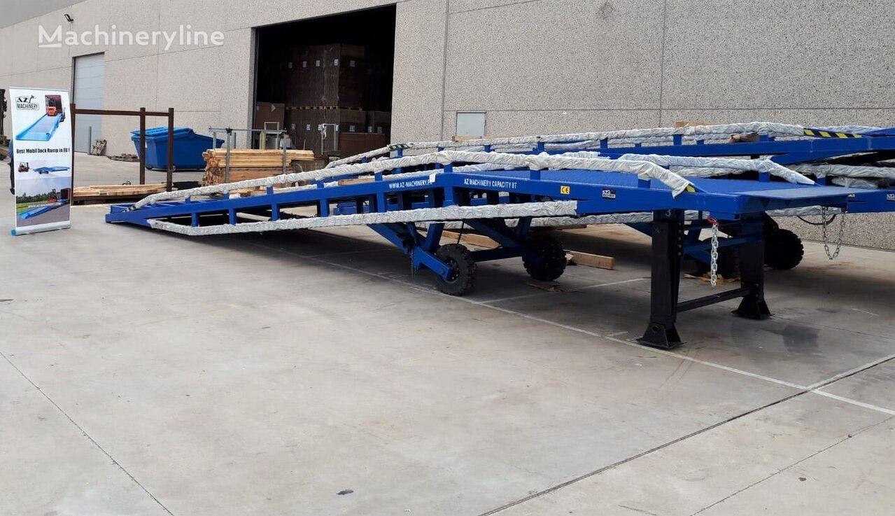 new AZ-MACHINERY AZ RAMP-DCQY 15 loading dock ramp