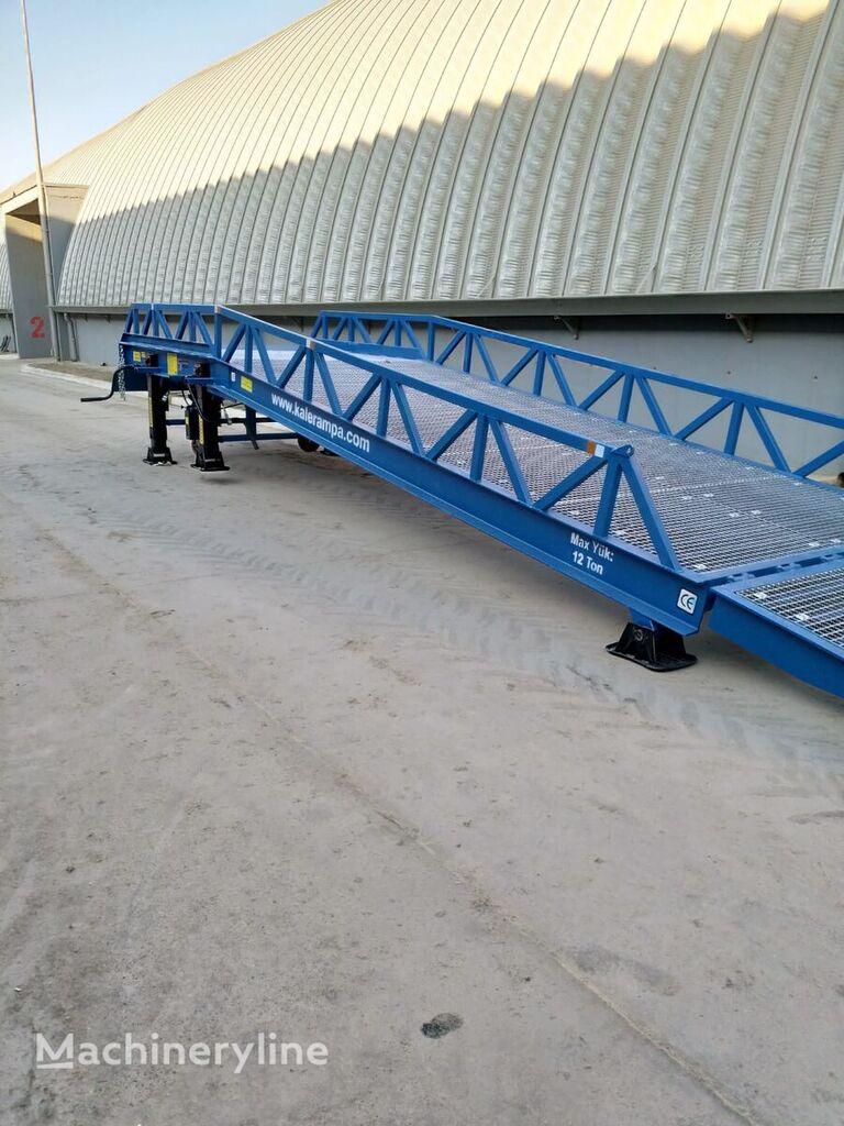 new KALE RAMPA KL-12TK loading dock ramp