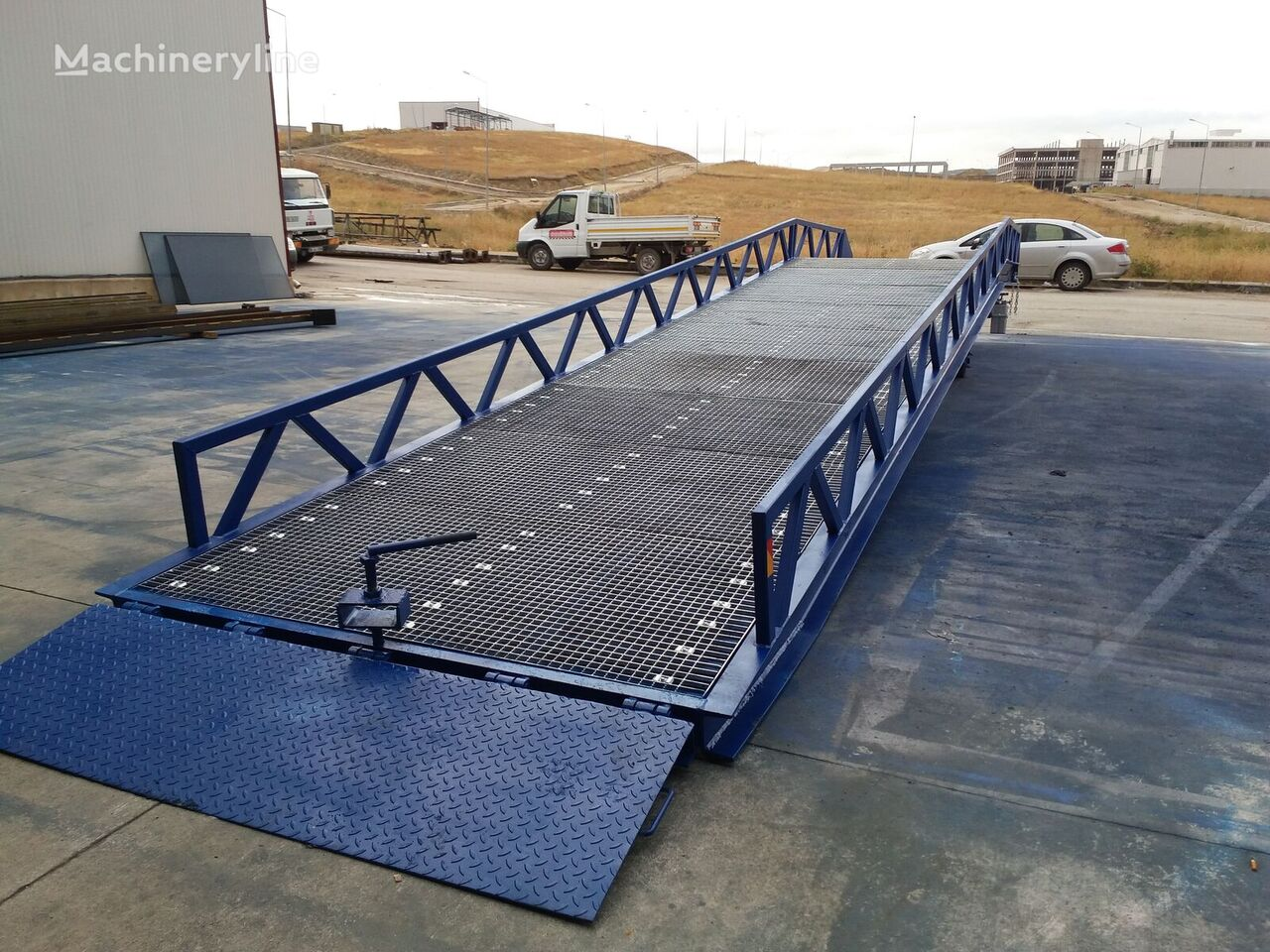 new KALE RAMPA KL-HYD loading dock ramp