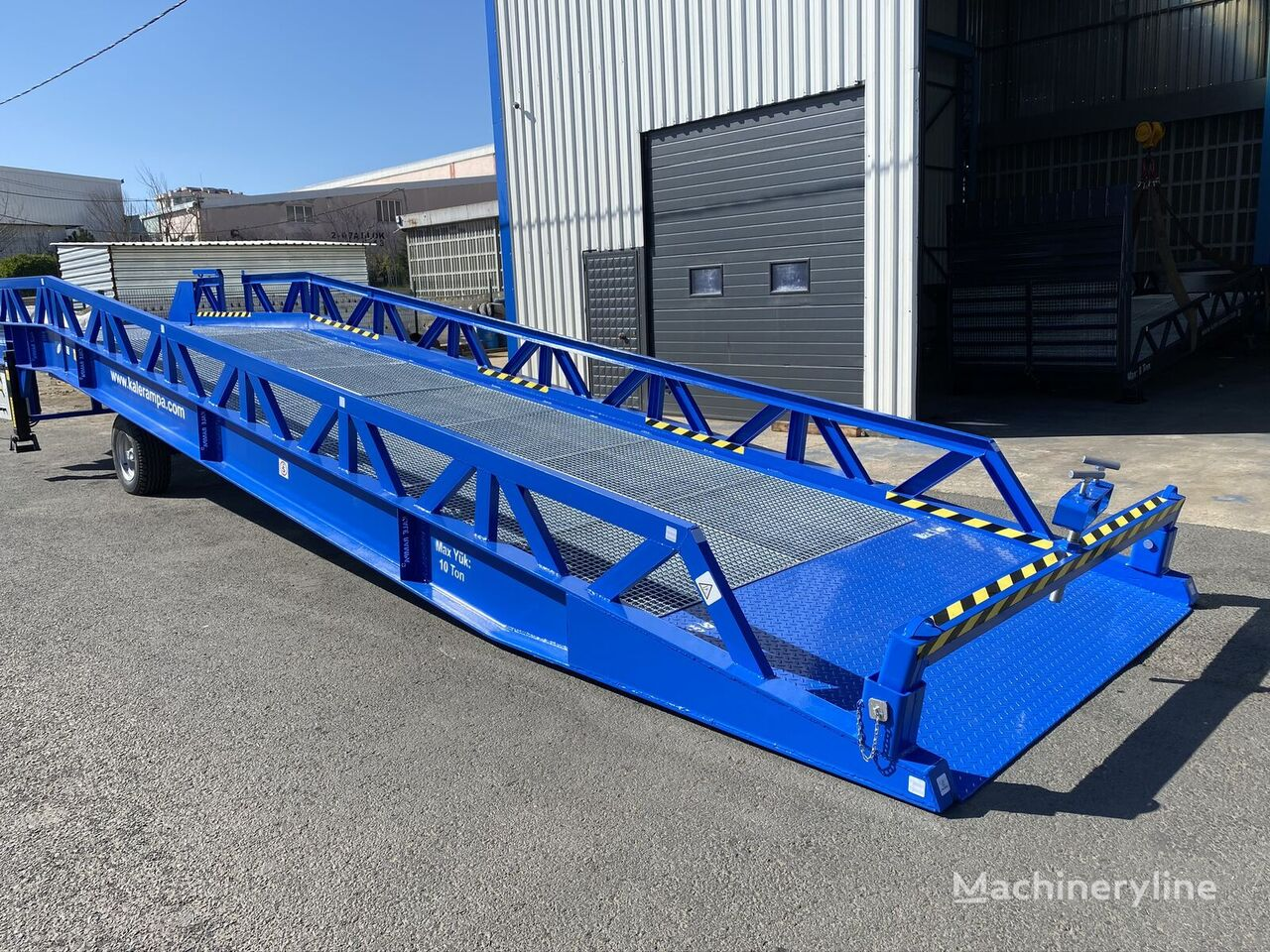 new KALE RAMPA MYR-DI-10 TONS loading dock ramp