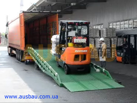 new AUSBAU AUSBAU mobile yard ramp