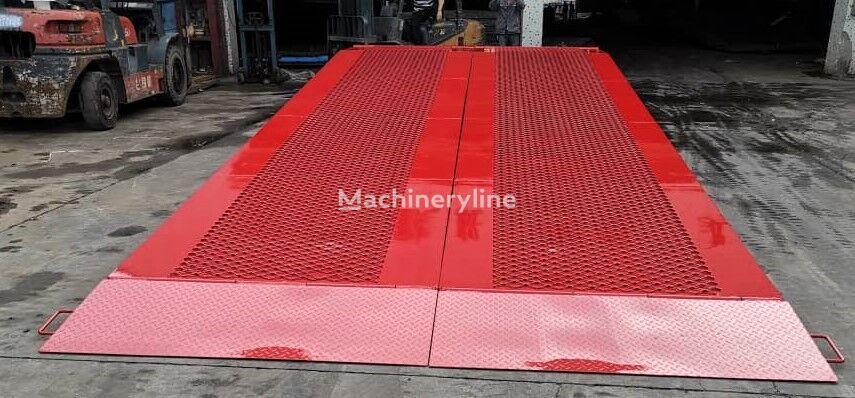 new AZ-MACHINERY King Version-BIG FOOT 15T mobile yard ramp