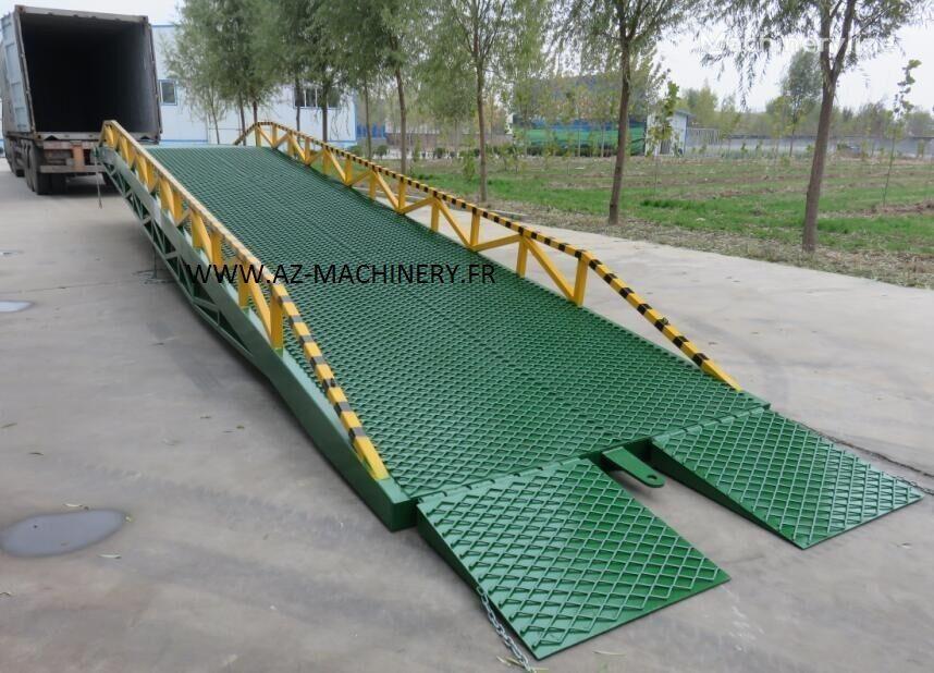 new AZ-MACHINERY RAMP-DCQ10 mobile yard ramp