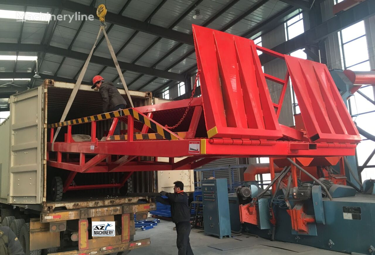new AZ-MACHINERY RAMP-DCQ8 mobile yard ramp