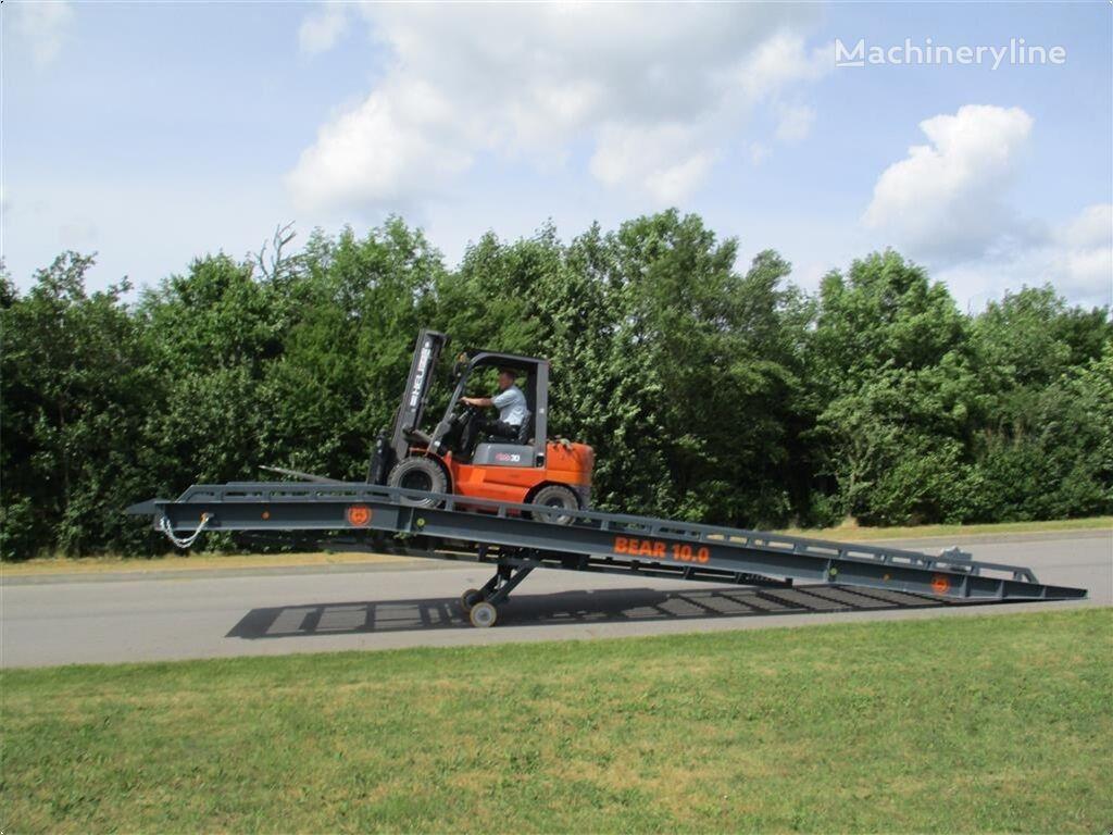 BEAR   10.0 Læsse rampe  mobile yard ramp