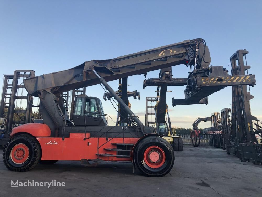 LINDE C4535TL reach stacker