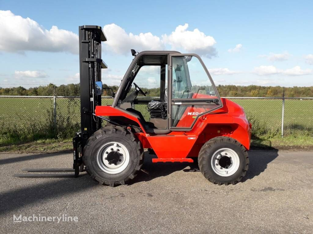new MANITOU M 30.4 rough terrain forklift