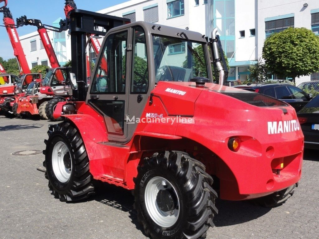 new MANITOU M50-4  rough terrain forklift