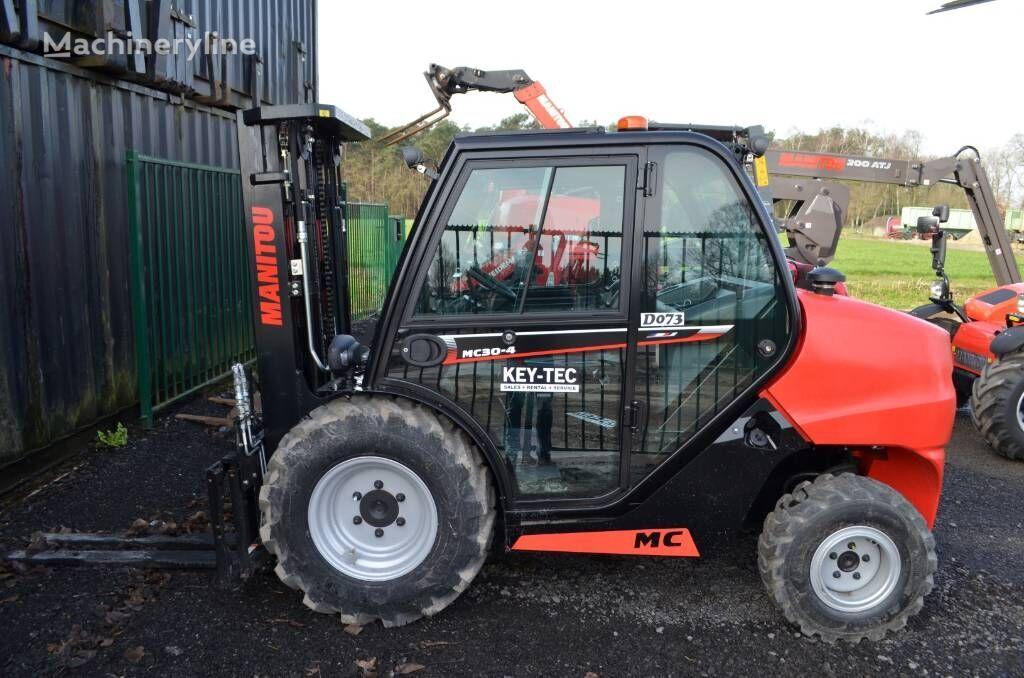 new MANITOU MC 30-4 rough terrain forklift