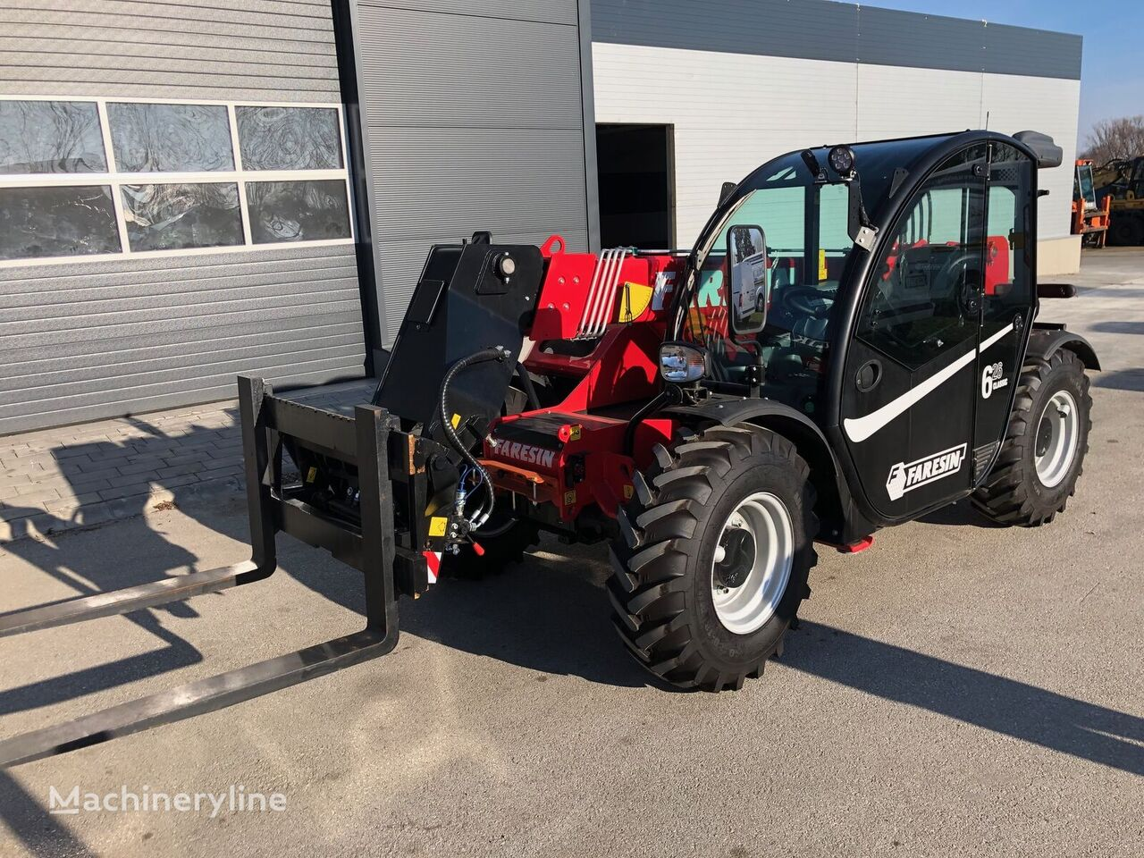 new FARESIN 6.26 telehandler