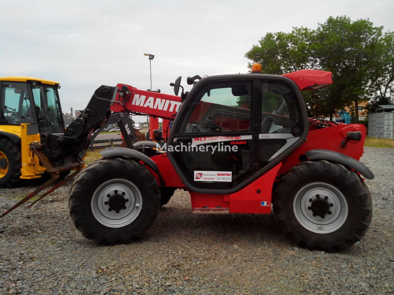MANITOU MLT 735-120 LSU TURBO telescopic handler