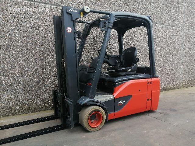 LINDE E20L EVO three-wheel forklift