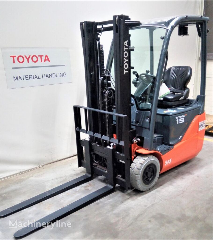TOYOTA 8FBE15T three-wheel forklift