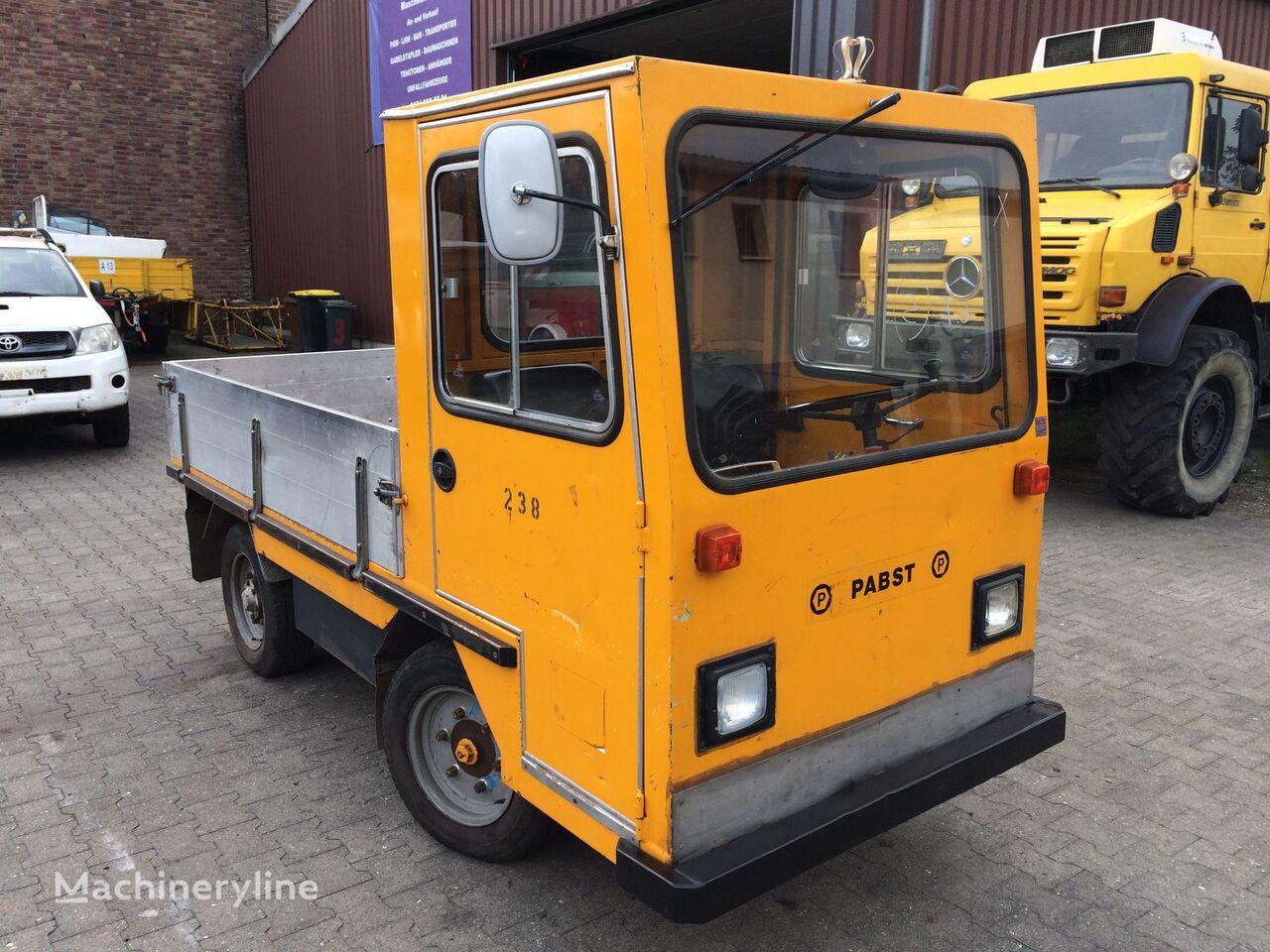 LINDE Pabst EFW 2002 Elektroschlepper LKW Kipper Plattformwagen tow tractor