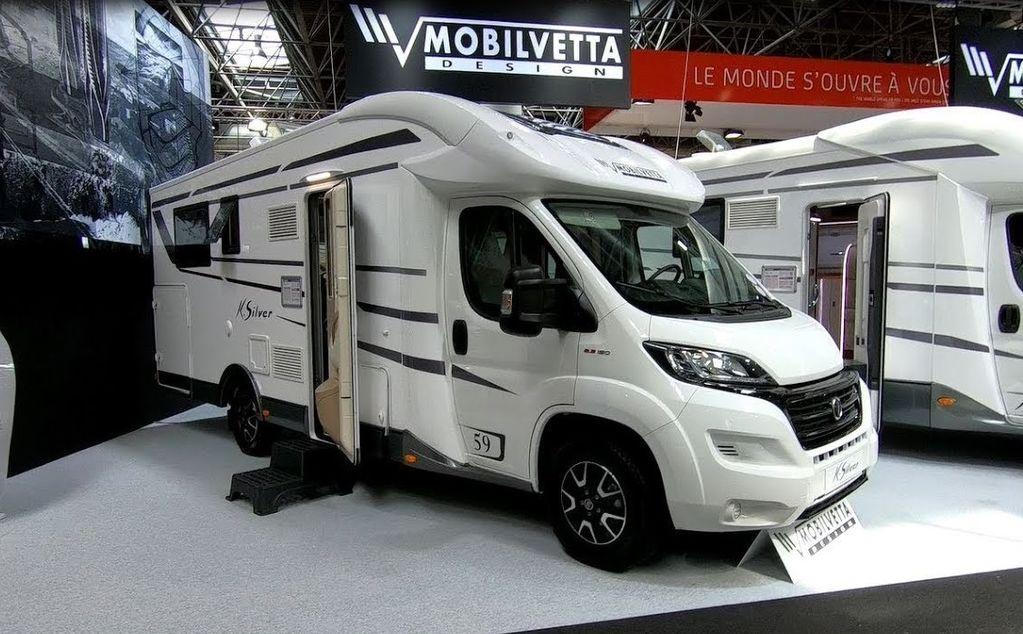 new FIAT Mobilvetta K-SILVER 59,Premium Luxury SemiIntegrate Model 2019,P motorhome