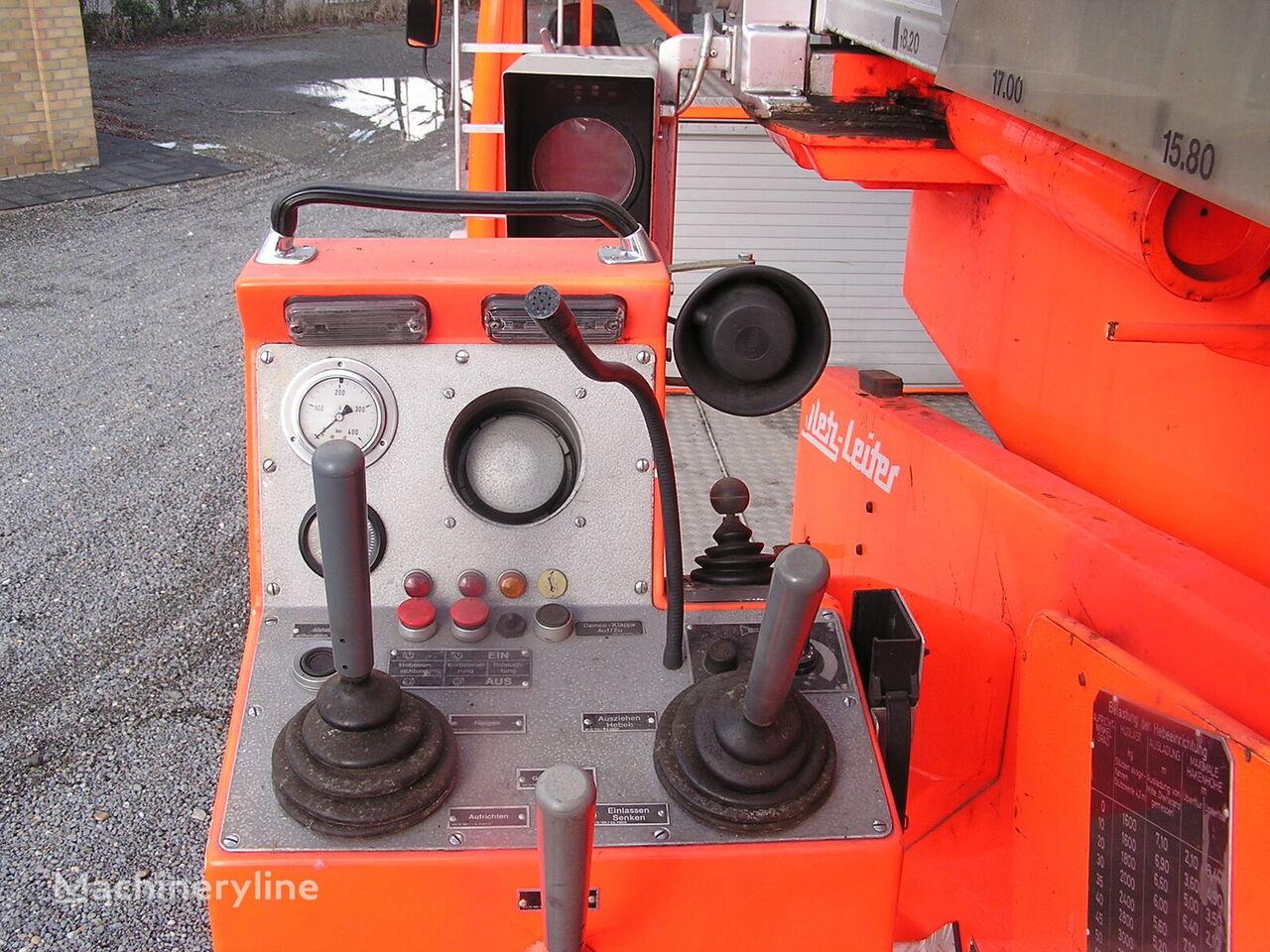 MERCEDES-BENZ 2636  (6x6)   Ladder 40 meter  airport fire truck