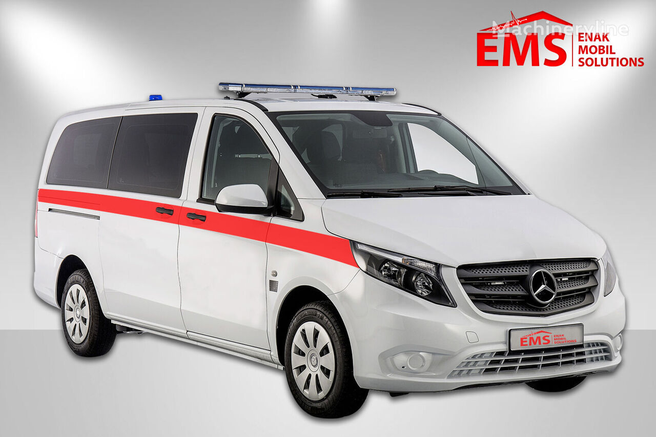 new MERCEDES-BENZ VİTO 114 AMBULANCE WİTH FULL EQUİPMENT ambulance