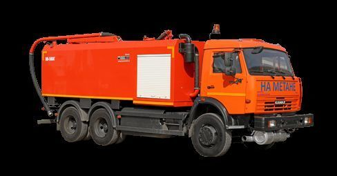 KAMAZ KO-560G combination sewer cleaner