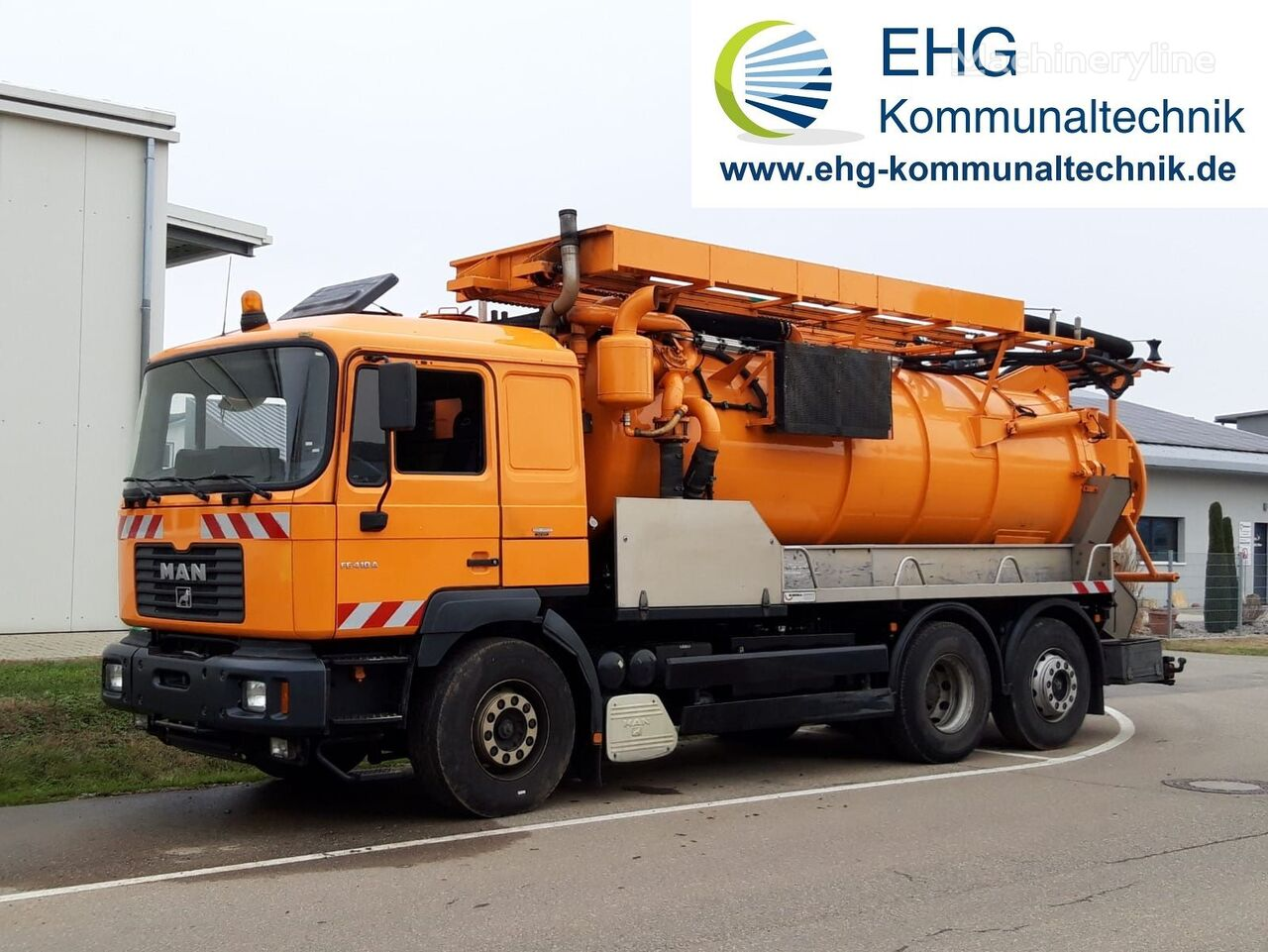 MAN F2001 26.414 combination sewer cleaner
