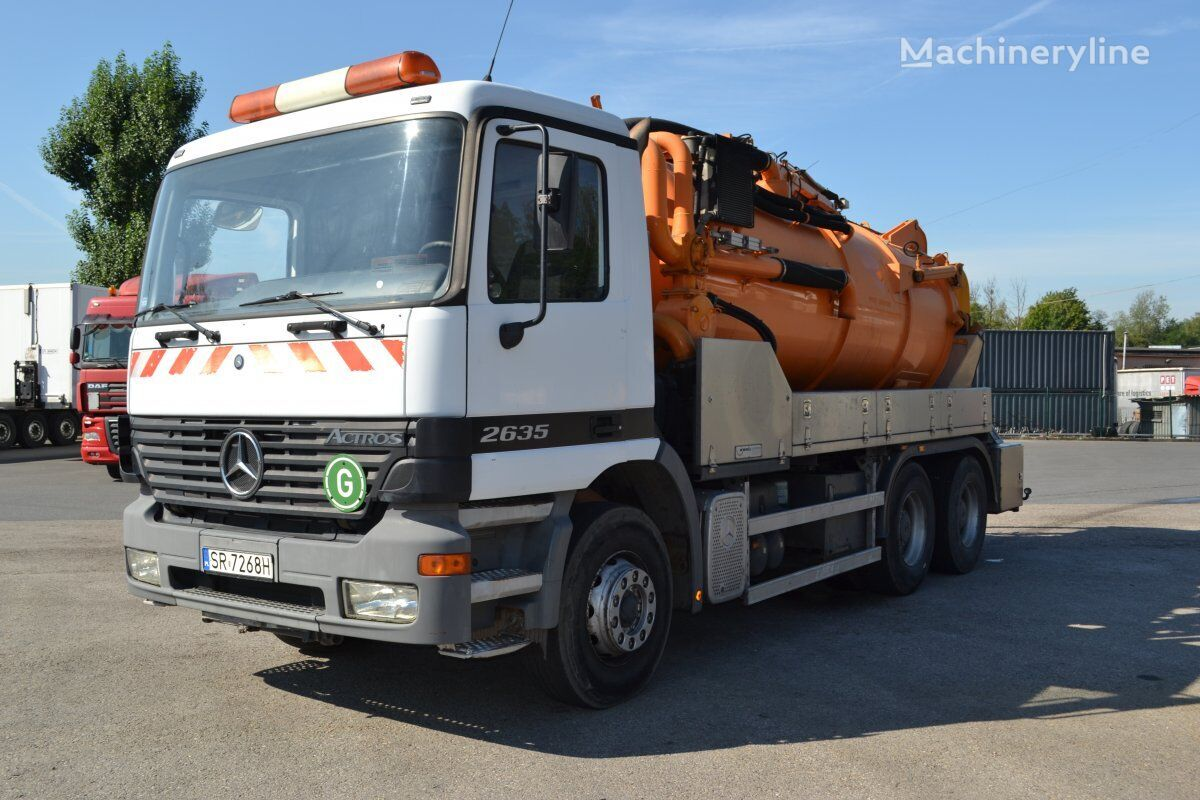 MERCEDES-BENZ combination sewer cleaner