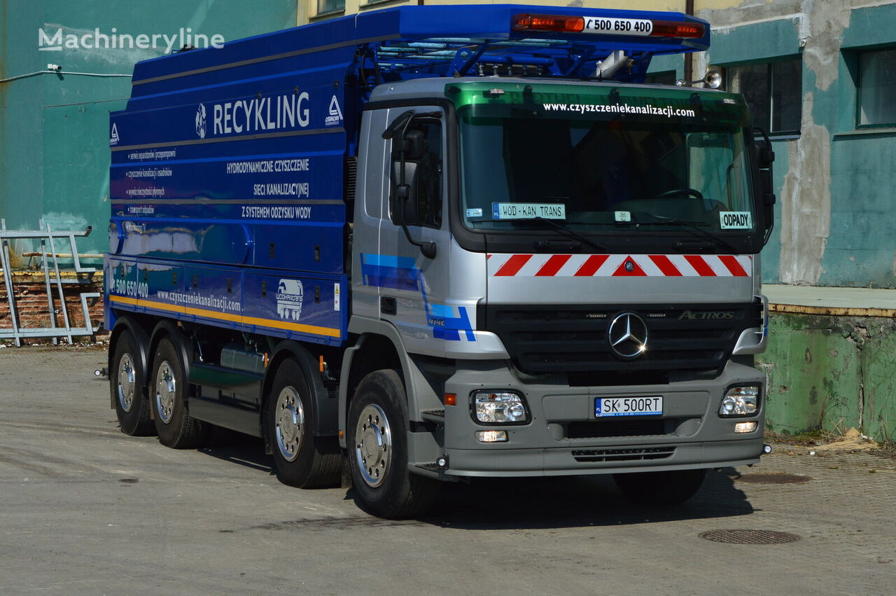 MERCEDES-BENZ  ACTROS 4146  combination sewer cleaner