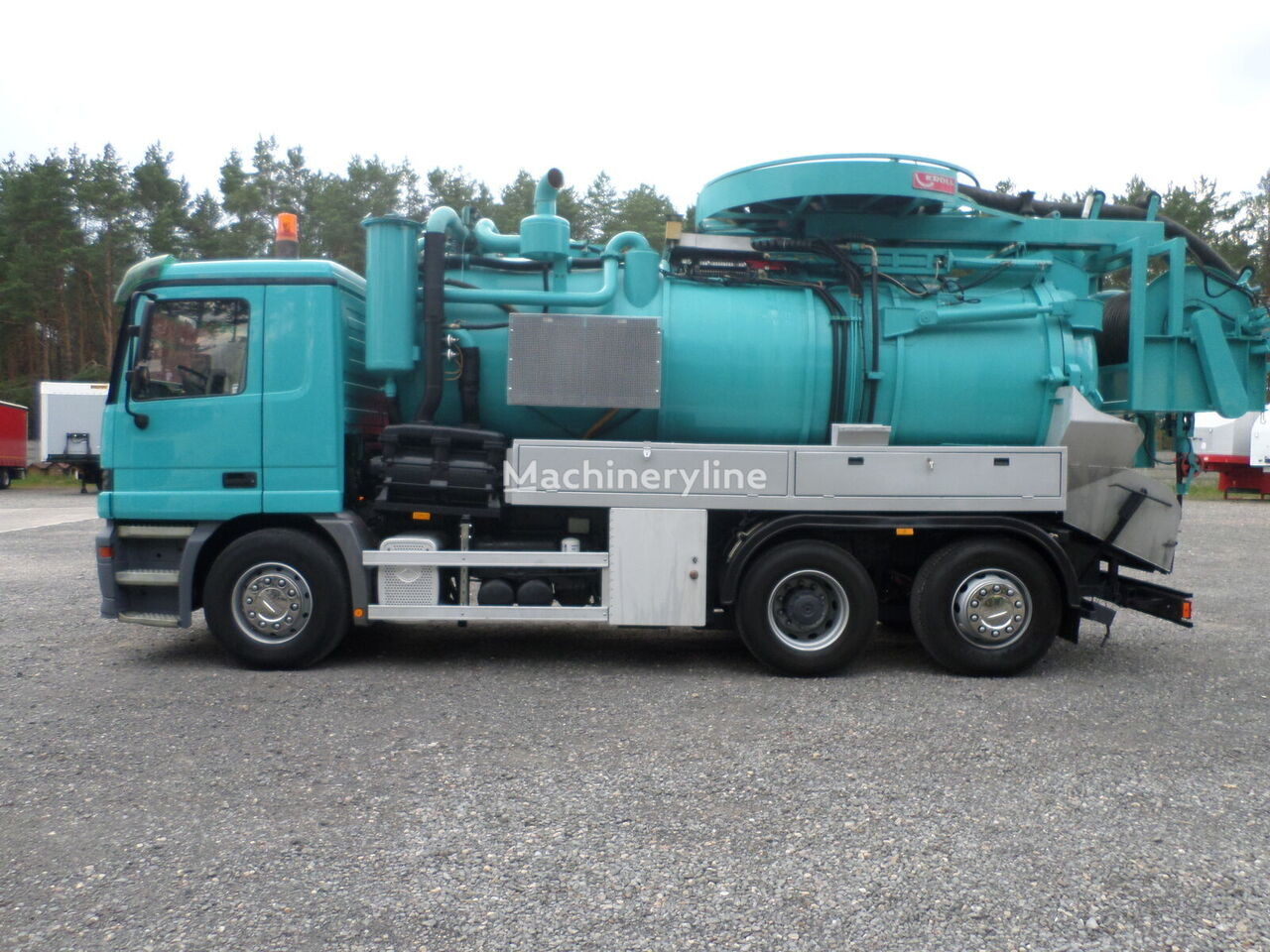 MERCEDES-BENZ Actros 2540L Kroll WUKO Water recycling  combination sewer cleaner