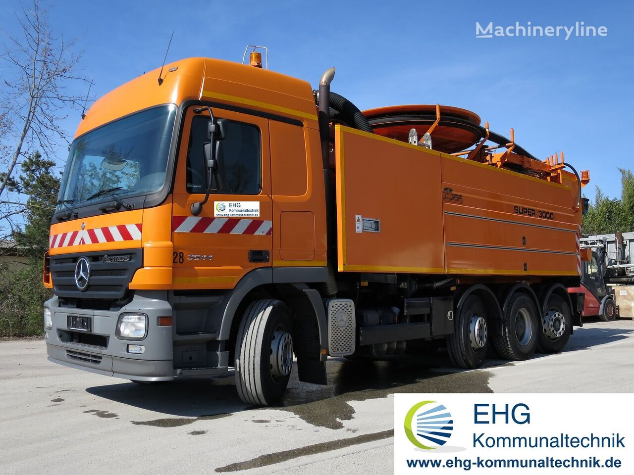 MERCEDES-BENZ Actros 3544 Wiedemann Super 3000 combination sewer cleaner