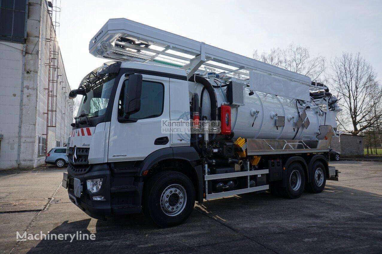 MERCEDES-BENZ CVS VacuStar 1600 combination sewer cleaner